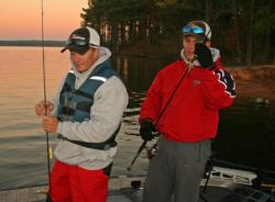 Seeking their second title, defending Northern Regional champions Kevin Beverley and Ben Dziwulski will look to add a morning bite on day two.