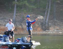 Ehrler's approach to tournament bass fishing is a contrast to the traditional conventions of bass behavior and patterns.