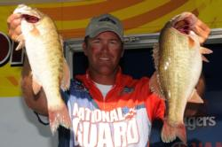 EverStart pro Randy Haynes set Rose on fire with ledge fishing.