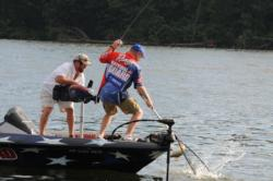Rose ledge-fishing en route to his runner-up finish at Guntersville.