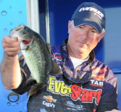 Randall Tharp of Gardendale, Ala., finished fifth with a three-day total of 54-12.