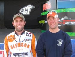 In second place at Okeechobee was the Clemson University team of Harold Turner and Andy Wicker.