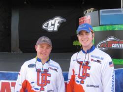 In fourth: University of Florida, Mark Gipson and Travis Fledderman.