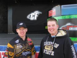 In fifth: Kennesaw State University, Thomas Frink and Justin Marlow.
