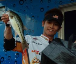 Pro Young Yang of Los Angeles, Calif., finished the EverStart Lake Shasta event in sixth place.