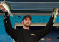 Bryant Smith of Castrol Valley, Calif., used a three-day catch of 24 pounds, 5 unces to capture first place in the Co-angler Division at the EverStart Lake Shasta event.