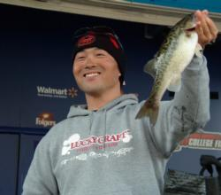 Fourth place at the EverStart event on Lake Shasta belonged to Toshitada Suzuki of Katusikaku, Japan, who recorded a three-day catch of 20 pounds, 6 ounces.