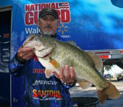 This 11-pound, 3-ounce hog gave Kelly Owens the Big Bass award for day two.