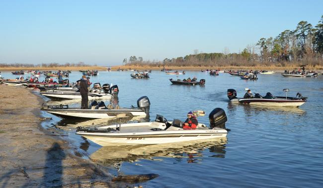 Flw fishing costa flw series 2011 sam rayburn reservoir for Fishing sam rayburn