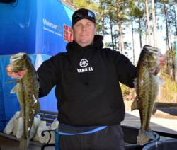 Pro Charles Bebber of Willis, Texas, placed fourth with 10 bass, 30-10, $7,562.
