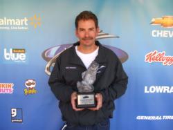 Co-angler Keith Sebastian of Rogersville, Mo., earned $1,921 as winner of the BFL Ozark event on Table Rock Lake.