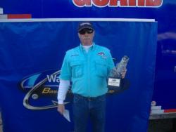 Co-angler John Carroll of Woodlawn, Va., earned $2,566 as winner of the Feb. 26 BFL North Carolina event.