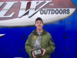 Ed Wilson of Lula, Ga., won the Co-angler Division of the March 5 BFL Bulldog Division tournament on Lake Lanier to earn $2,415.