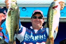 Pro Cody Bird of Granbury, Texas, leapfrogged from ninth place to third in the finals on the strength of a three-day catch of 54 pounds.