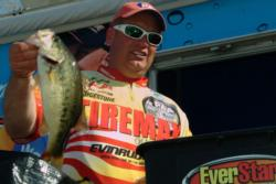 Pro Chris Wilkerson of Conroe, Texas, netted a total catch of 50 pounds, 8 ounces to finish the event in fifth place.