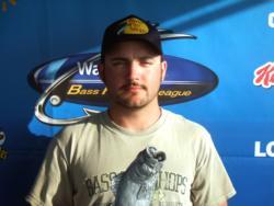 Co-angler Chris Holland of Winchester, Tenn., earned $2,652 as winner of the March 19 BFL Choo Choo event.