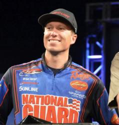 Brent Ehrler rose to fifth place after catching 13-7 Saturday.