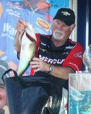 Bobby McMullin landed in fifth with a three-day catch of 43 pounds, 2 ounces.