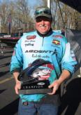Steve Gregg is the EverStart Central Kentucky Lake co-angler champion.