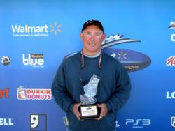 Kibbee McCoy of Crossville, Tenn., earned $1,514 as winner of the Co-angler Division in the April 2 BFL Music City event.