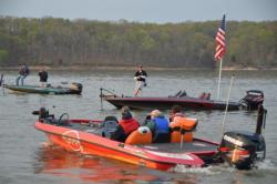 Takeoff commences on Kentucky Lake for the top 25 championship contenders.