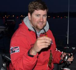 Matt Arey is pumped for some springtime flipping on Lake Chickamauga.
