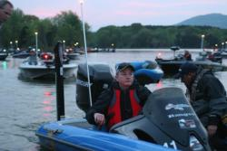 Second-place boater Ed Loughran of the Mid-Atlantic Division is confident of his chances of moving up on Day 2 of the TBF Championship.