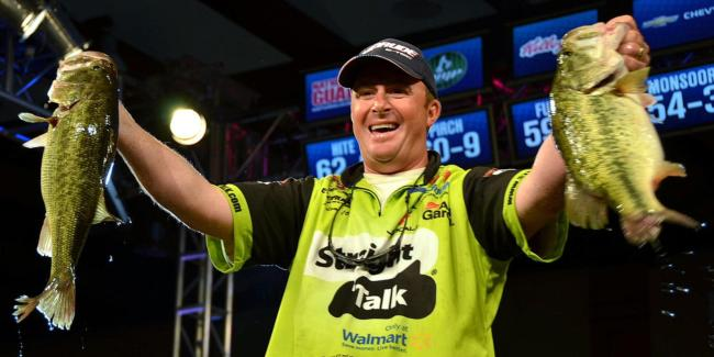 Scott Canterbury caught the heaviest limit on day four - 19 pounds, 9 ounces. The Alabama pro finished in fourth place.