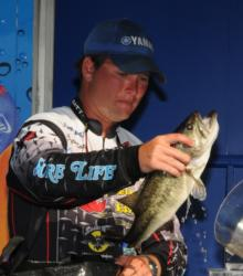 Clayton Batts of Macon, Ga., rounded out the top five with a three day total of 33 pounds, 7 ounces.
