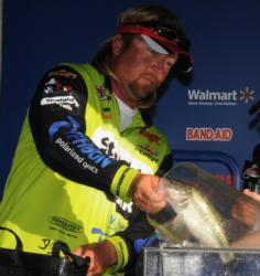 JT Kenney of Palm Bay, Fla., finished fourth with a three-day total of 36 pounds, 5 ounces.
