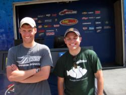 The Humboldt State University team of Ben Smith and Dominic Vitali placed second.
