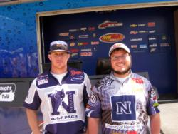 In third place at the Cal Delta was the University of Nevada-Reno team of Brandon Murphy and Jared Malone.
