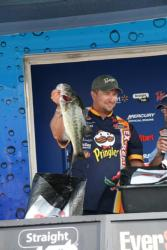 Texas-rigged Senkos and dropshots with Robo Worms delivered Sean Minderman