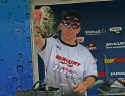 After leading days one and two, Charlie Weyer slipped to second on day three.