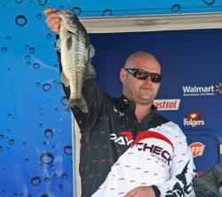 Frogs and punch baits gave Stephen Tosh Jr. a fourth place finish.