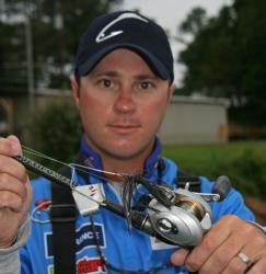 Topwater presentations like this buzzbait will be the plan for Kip Carter.