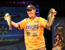 Jacob Wheeler won the All-American by a margin of 9 pounds, 2 ounces.