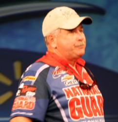 Third-place boater Charles Cummings had one of two day-three limits.
