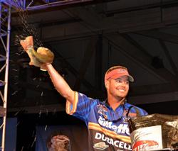 3rd: Clint Brownlee, Tifton, Ga., 20 bass, 40-1, $28,636.