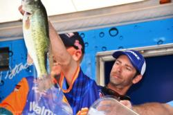 Day-three leader Michael Iaconelli of Pittsgrove, N.J., finished the FLW Tour Potamac River event in second place.