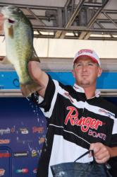 Local favorite Bryan Schmitt of Deale, Md., finished the Potomac River event in fourth place