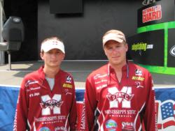 3rd: Mississippi State team of Xan Hancock and Andrew Gordon.