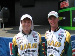 4th: UAB team of Taylor Mardis and Patrick Townes.