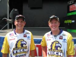 5th: Tennessee Tech team of Ryan Harpe and Chris Thomas