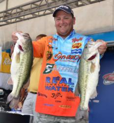 Pro Ramie Colson Jr. is tied for the lead after catching 23 pounds, 5 ounces on day one.