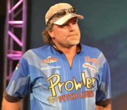 Kevin Snider fell to fourth after catching a limit worth 11 pounds, 11 ounces.