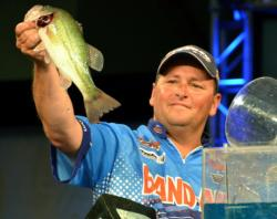 Pro Ramie Colson Jr. finished the Kentucky Lake event in fourth place.