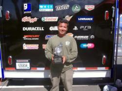Robert Parmer Jr. earned $1,757 as co-angler winner of the June 18 BFL Northeast Division event.