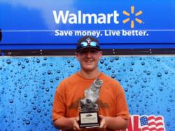 Cody Shaw of Reedsburg, Wis., earned $2,193 as the co-angler winner of the July 9 BFL Great Lakes event.