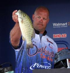 Day two leader Todd Schmitz found his top spots short of big fish on day three.